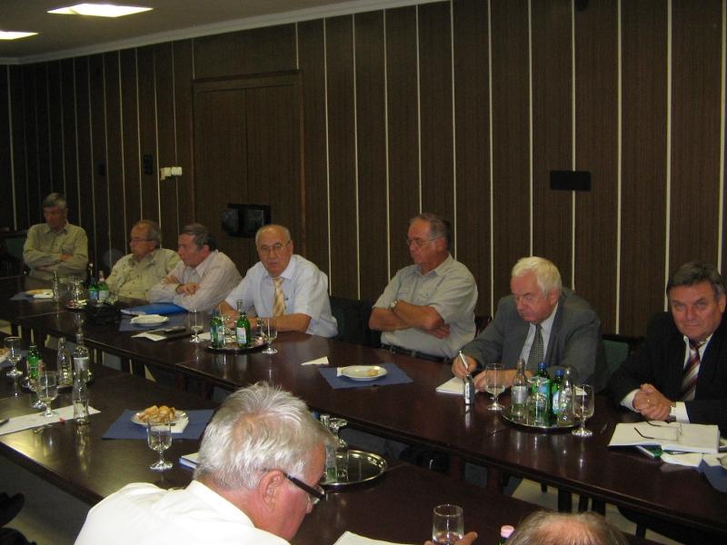 Elnökségi ülés Szeged SZBK