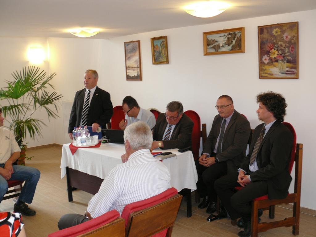 Kölesd - Elnökségi ülés